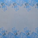 Floral Stripe - Blue