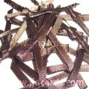 Satin Bows - 3mm - Chocolate