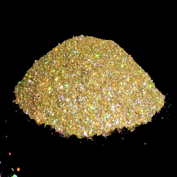 Metalic Glitter Champagne Gold