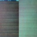 Kandi Core - Mocha - Aqua Stripe