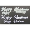 Happy Christmas Word Set 001 & 003