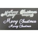 Merry Christmas Word Set - 042 & 003