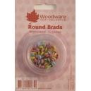 Round Brads - 6mm Pastel