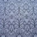 Fabric Card - Elizabethan Chic - Black/Silver