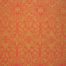 Fabric Card - Elizabethan Chic - Red/Gold