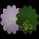 Jewelled Elegance - Floral - Amethyst - JEW1012