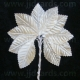 Satin Leaves - Ivory