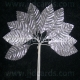 Metallic Leaves - Silver