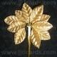 Metallic Leaves - Gold