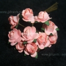 Paper Tea Roses - Soft Pink