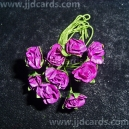 Paper Tea Roses - Purple