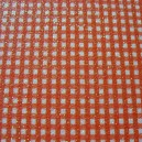 Luxury Glitter Card - Gingham - Red