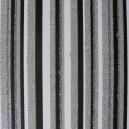 Luxury Glitter Card - Stripe - Black/White