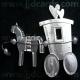 Horse & Cart - Silver