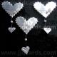 Hearts - Silver
