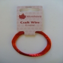 Craft Wire - Red