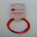Craft Wire - Red