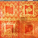 Textile Collection - Floral Frames & Toppers - Copper