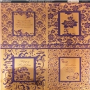 Textile Collection - Floral Frames & Toppers - Purple
