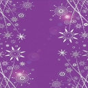 Purple Mirri - Silver Deco Flowers