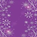 Purple Mirri - Silver Deco Flowers