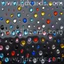 Assorted Colours - 120 Rhinestones