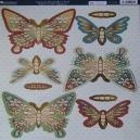 Autumn Butterflies - Teal