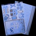 Blue Paisley Parcels