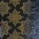 Textile Collection - Christmas Florentine Star - Black