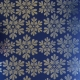 Textile Collection - Christmas Snowflakes - Blue