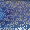 Textile Collection - Christmas Holly - Blue