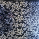 Textile Collection - Christmas Crystals - Black