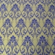 Textile Collection - Versaille - Gold/Blue