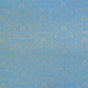 Shimmer Card - Lace Birds - Pastel Blue