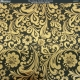 Textile Collection - Brocade Ornate Swirls - Black