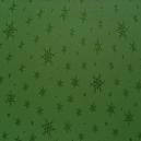 Green - Green Snowflakes
