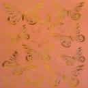 Orange Butterflies - Copper Foil