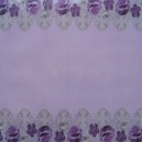 Acetate - Fabric Floral - Lilac