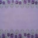 Acetate - Fabric Floral - Lilac