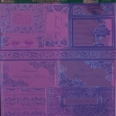 Textile Collection - Sentiment Toppers - Purple