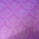 Lace Bouquet - Shimmer Card - Pastel Plum