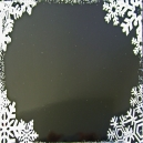 Snowflake Corners - Black