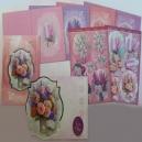 Lace Bouquet - Sparkling Decoupage Kit