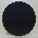 Midnight Black - Adorable Scorable Scalloped Circle Cards & Envelopes