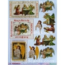 Angel/Nativity Decoupage Sheet