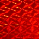 Self Adhesive - Mosaic - Red