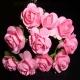 Paper Tea Roses - Pink