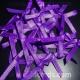 Satin Bows - 3mm - Purple