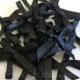 Satin Bows - 3mm - Black