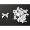 Satin Bows - 6mm - White